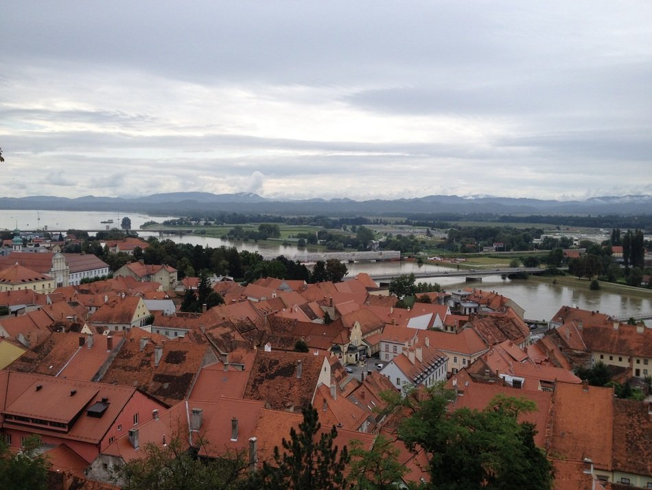 extraordinarily beautiful ptuj city