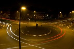 ring road at night