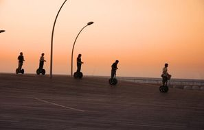 segway group sunset
