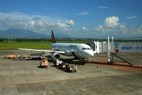 plane at philippines airport