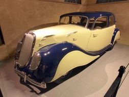 1937 car on display at the car dealership