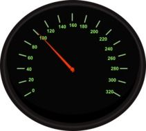 speedometer automobile drawing