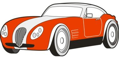 oldtimer vintage automobile drawing