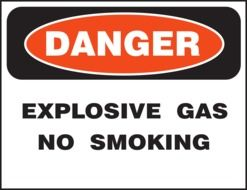 Clipart of danger no smoking sign