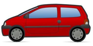Clipart of red car