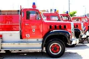 Fire Engine Exhibition