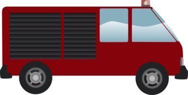 fire engine drawing