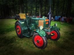 Photo of Old classic tractor