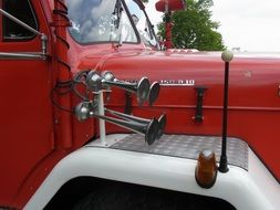 horn on fire engine