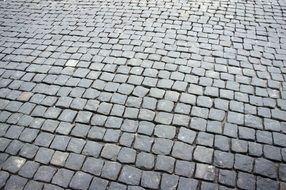 stone pavement in Moscow