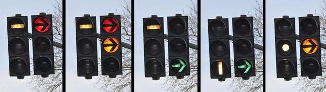 traffic light signal street N11