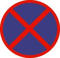 picture of no stopping traffic sign