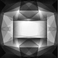 Black geometric background with copyspace N2