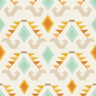 Ethnic seamless vector pattern N4