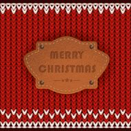 merry christmas, greeting card, Knitting