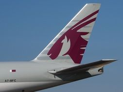 Tail Boeing 777