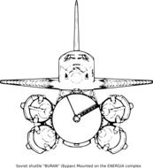 schematic image of a spacecraft