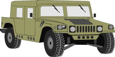 clipart of the hummer vehicle
