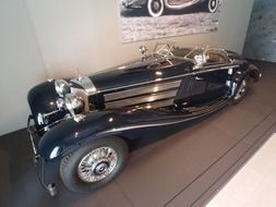 old beautiful car 'Mercedes Benz' 1936