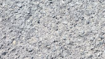 asphalt on the road close-up