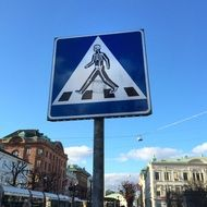 photo of traffic sign on a road