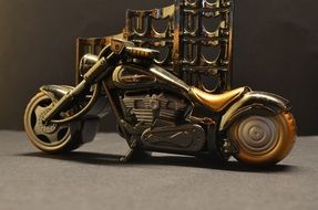 small model of harley davidson motorcycle
