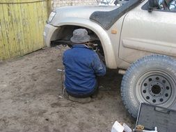 car breakdown garage mongolia