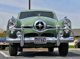 antique car of the American automaker studebaker