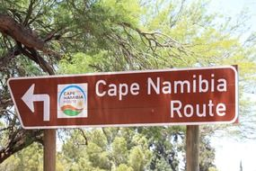 cape namibia route in south africa