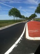 smooth road to Groningen