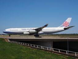 china airlines airbus a340