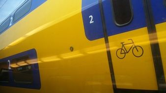 train door for bicycles