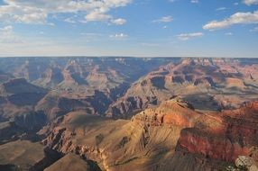 mountains of Grand Canyon