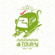 Illustration bus travel N2