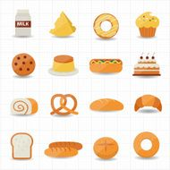 Bakery and Bread Icon N2