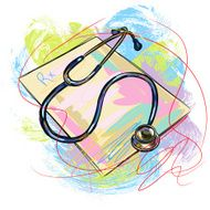 Colorful Stethoscope