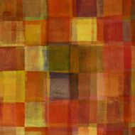 Red and Orange Checked Pattern