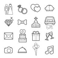 Wedding Icon N19