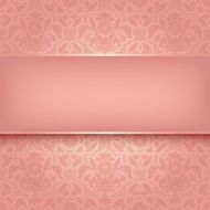 Background pink ornamental fabric texture