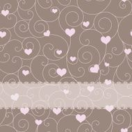 card design for wedding or valentine's day N3