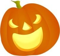 Halloween Pumpkin Smile By Cgbug Happy clipart