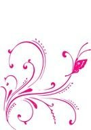 Pink Butterfly N11
