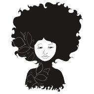 Natural Hair Silhouette N3