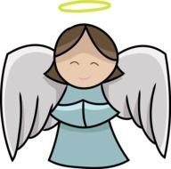Christmas Angel This Cute & Lovely Clip clipart