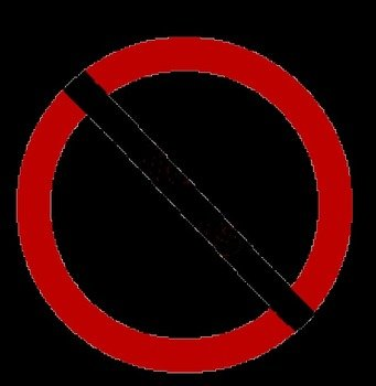 Download Sign Of No Symbols A Circle With Slash Through It