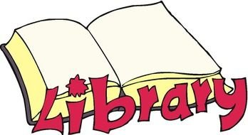 open book library logo