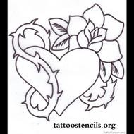 Clip Art of the tattoo design