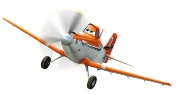 Clip Art of the cartoon plane character