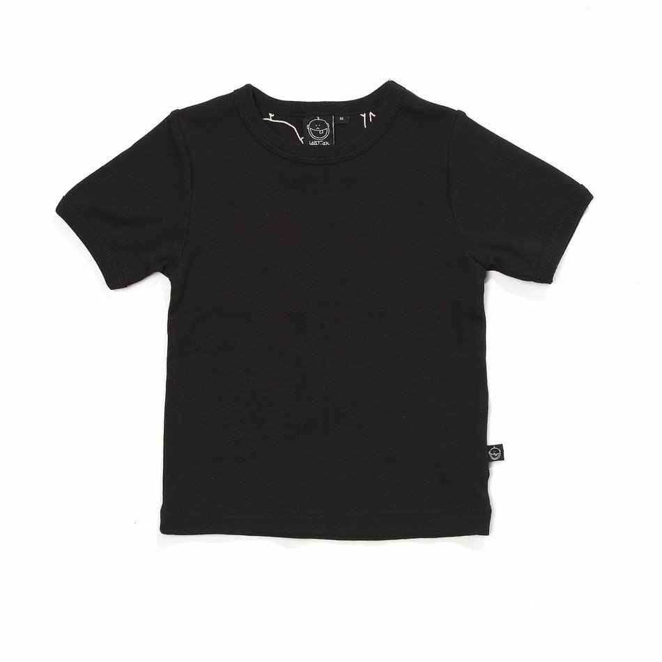 short black t-shirt as a picture for clipart