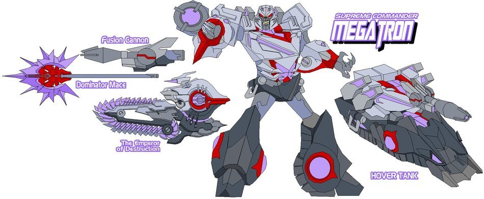 illustrated Megatron